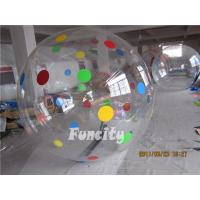 Buy cheap 0.8mm TPU or PVC Huge Human Sphere Inflatable Walking On Water Ball from wholesalers
