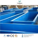 Buy cheap China hot sale Fiberglass water tank fish tank Fish farming tank from wholesalers