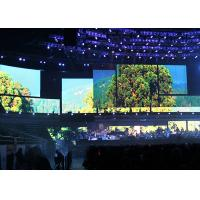 Buy cheap Seamless Connection P4.8 Indoor Rental LED Display Fixing Installation / Hanging Up from wholesalers