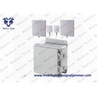Buy cheap Middle WiFi2.4 GSM 3G Cell phone Jammer with IR Remote Control 4G LTE/Wimax from wholesalers