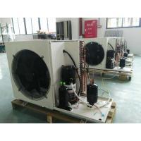 Outdoor DC Inverter Heat Pump Galvanized Steel Sheet Compact Structure Save Power