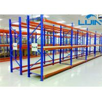 Buy cheap Convenient Medium Duty Shelving Plywood Board Steel Frame 100-150kg / Layer from wholesalers