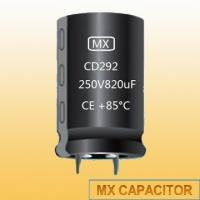 Buy cheap Snap in Capacitor CD292 2000Hours 85°C 16V 47000uF Aluminum Electrolytic Capacitor from wholesalers