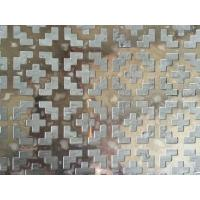 Buy cheap 316 Stainless Steel Decorative Perforated Sheet Metal Panels 5m Max Width from wholesalers