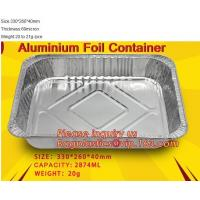 Buy cheap Well Selling Catering Tray Fast Food Disposable Foil Container Aluminum Foil Container Aluminum Container BAGEASE PACKAG from wholesalers