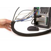 Buy cheap Durable Heat Proof Cable Sleeve , Black / Blue Electrical Wire Sheathing from wholesalers