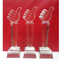 Buy cheap crystal item trophy award souvenirs for golf player brazil world cup 2014 from wholesalers