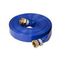 Buy cheap Durable PVC Layflat Hose / Pipe UV Resistant Flexible With Coupling Fittings from wholesalers