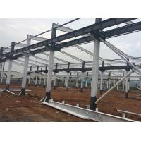Buy cheap Industrial Light Steel Prefabricated Workshop Buildings Q345B / Q235B Customized Size from wholesalers