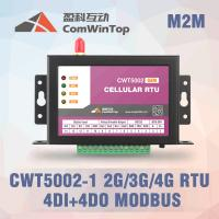 Buy cheap CWT5110 Wireless Modbus RTU GPRS I O Module With 4 Di 4Do Environmental Monitoring product