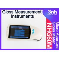 Buy cheap Micropore Digital Paint Gloss Measurement Instruments NHG60M 60 ° Touch Screen from wholesalers