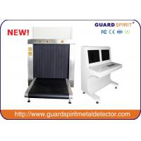 Buy cheap CE standard 100*100cm Tunnel X ray Luggage Scanner, baggage airport conveyor for safeguard from Wholesalers