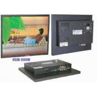 Buy cheap High definition HSIM-1909 MW 19'' Wide-screen Professional CCTV Monitors  product