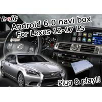 Buy cheap Lexus LS460 LS600h Car GPS navigation box Android 6.0 fast speed youtube offline from Wholesalers