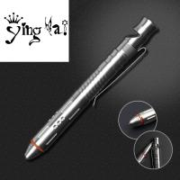 Buy cheap Hot Sale Break Glass Head  stainless steel tactical ball pen with whistle and gift self defense tool from wholesalers