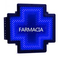 Buy cheap Printed Display LED Cross Sign Outdoor Moving Message Sign Cross Shape Farmacia from wholesalers