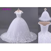 Buy cheap Gelinlik Strapless Sweetheart Ball Gown Wedding Dress , Sheer Back Princess Ball Gowns from wholesalers