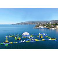 Buy cheap Outdoor Water Waves Water Park Equipment , Inflatable Floating Water Park from wholesalers