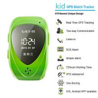 Buy cheap 015 go everywhere smart wrist watch gps personal tracker for kids/old people with sos call from wholesalers