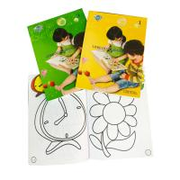 Buy cheap Glossy Lamination Personalised Stationery Gifts Kid' S Color Filling Book from wholesalers