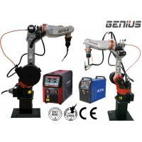 Buy cheap 6 Axis Arc Welding Robot Fast Speed Industrial Application Powerful High Rotation from wholesalers