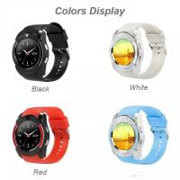 Buy cheap V8 Smart Watch Bluetooth Watches Android with 0.3M Camera MTK6261D Smartwatch for android phone Micro Sim TF card from wholesalers