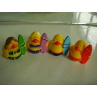 Buy cheap OEM Mini Yellow Personalised Rubber Bath Ducks For Baby Shower Favors from wholesalers