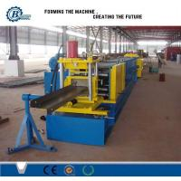 High Speed Z Shape Steel Purlin Roll Forming Machine With 25m / min