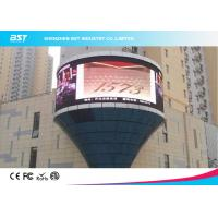 Commercial P10mm Flexible LED Display Screen For Concert / Tv Show