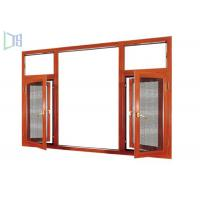 Buy cheap Extruded Aluminium Casement Windows Heat Insulation With 1.0 - 1.4mm Thickness Profile from wholesalers