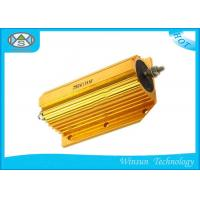 Buy cheap 250W Wire Wound Power Resistor 0.01ohm - 68K Ohm Gold With Aluminum Housed Coiling from wholesalers