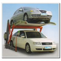 Buy cheap 2000KG CE Approved Vertical Parking Tilting Two Post Double Car Parking Lift product