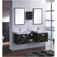 Buy cheap Double Washing Stainless Steel Bathroom Cabinets 9501 from wholesalers