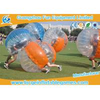 Buy cheap Soccer Game Bumper Wearable Inflatable Ball Environment Friendly Bubble Footy For Adults product