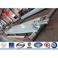 Buy cheap 150x 50 X 5 Mm Thickness Galvanised Angle Iron Channel Bracket For 69kv Transmission from wholesalers