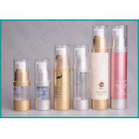 Buy cheap 15ml 30ml 50ml AS Airless Lotion Pump Bottles Easy Open For Cosmetics from wholesalers