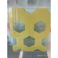 Buy cheap SAFETY GLASS, LAMINATION GLASS, 6.38MM, 7.38MM, BLUE, GREY, GREEN, RED, FENCES, CANOPY, 1830*2413MM from wholesalers