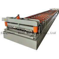 Buy cheap Galvanized Metal Steel Roof Panel Roll Forming Machine Production Line from wholesalers