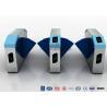 Buy cheap Optical Retractable Half Height Turnstiles , 900mm Width Flap Barrier Turnstile from wholesalers