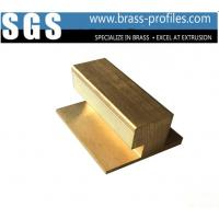 Buy cheap Architectural Brass Window Door Frame Copper Alloy Window Srctions from wholesalers