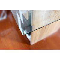 Buy cheap bevel edg toughened glass 8MM thick as table top from wholesalers