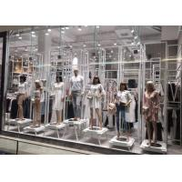 Buy cheap Whole Clothing Store Display Fixtures With Display Stands , Racks , Mannequins from wholesalers