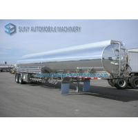 Buy cheap High Capacity DOT Ellipse Two Axle Oil Tank Trailer 35000L Without Painting from wholesalers