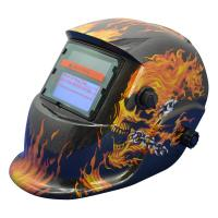 Buy cheap Fully Automatic Solar Powered Auto Darkening Welding Helmet 90*40mm View Area product