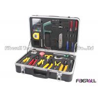 Buy cheap Fiber Fusion Splicing Tool Kit Fiber Optic Accessories With Carriyng Case from wholesalers