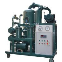 Buy cheap 2018 Newest High Standard Quality Vacuum Dehydration Transformer Oil Purifier from wholesalers