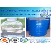Buy cheap Common Chemical Solvents Iso Butyl Acetate Olorless Transparent Liquid C6H12O2 from wholesalers