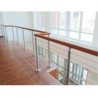 Buy cheap Building railing design 6 mm inox cable infill for wire cable balustrade product