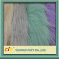 Buy cheap 83% Acrylic 17% Polyester High Pile Faux Fur Fabric For Garment And Funiture product