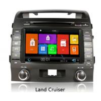 Buy cheap Toyota land cruiser 200 Automobile GPS Navigation Systems , 8 inch car dvd player from wholesalers